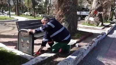 cevre temizligi -  Kuşadası'nda kent mobilyaları usta ellerde yeniden hayat buluyor