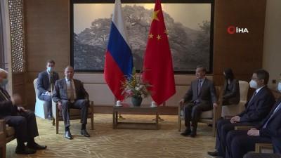 iran -  - Rusya Dışişleri Bakanı Lavrov, Çin Dışişleri Bakanı Wang Yi ile görüştü