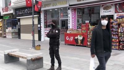 YOZGAT - İç Anadolu'da Kovid-19 denetimi yapıldı