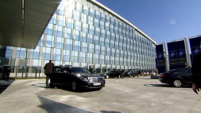BRÜKSEL - Çavuşoğlu, NATO dışişleri bakanları toplantısında