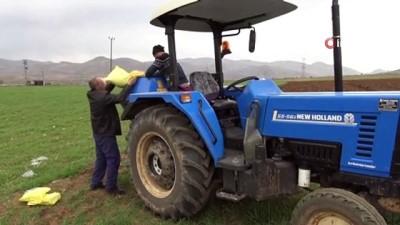 Gercüş'te çiftçilerin bahar mesaisi başladı