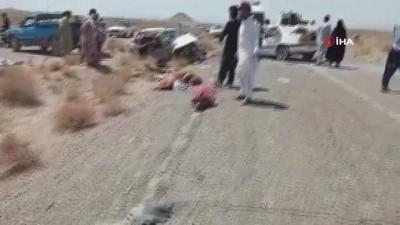 iran -  - İran'da zincirleme trafik kazası: 14 ölü