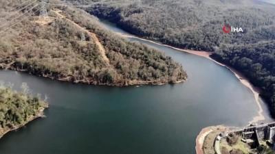 doluluk orani -  İstanbul'da barajların doluluk oranı yüzde 66,84'e ulaştı