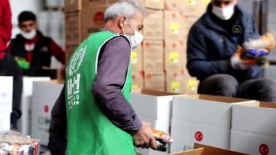 KİLİS - İHH'nın ramazan yardım tırları Türkiye'nin dört bir yanına gönderildi