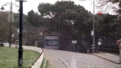 İstanbul'da beklenen kar yağışı etkili oldu: Lapa lapa kar yağdı