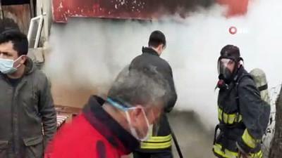 Osmancık'ta korkutan yangın
