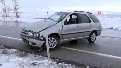 Sorgun'da otomobil takla attı: 1 ölü