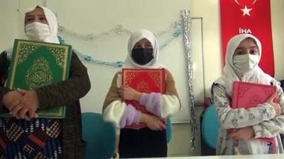 70 yaşında azmetti, Kur'an-ı Kerim'i öğrendi