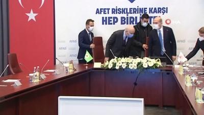 konferans -  Bakan Soylu, TOBB, TZOB ve TİSK ile işbirliği protokolü imza törenine katıldı
