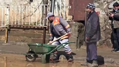 felaket -  Bingöl'de sel sonrası temizlik seferberliği