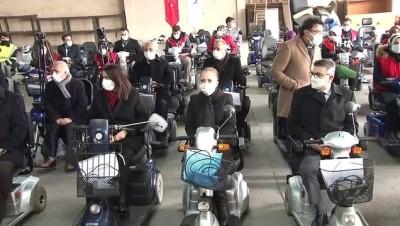 tekerlekli sandalye -  Hollanda'daki Türklerden Türkiye'deki engelli bireylere destek