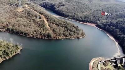 doluluk orani -  İstanbul'da barajların doluluk oranı yüzde 70 seviyesine geldi