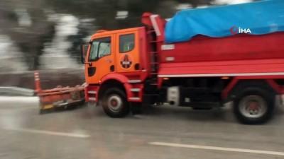 karayollari -  İzmir-Ankara Karayolu kapanmasın diye çalışıyorlar