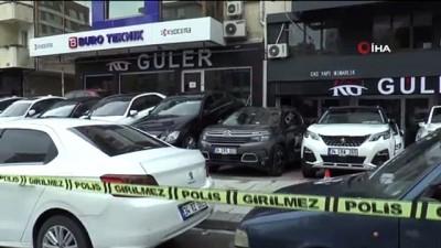 Kadıköy'de oto galeriye kurşun yağdırdı