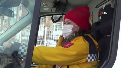 Kadın sağlık çalışanlara özel ambulans sürüş eğitimi