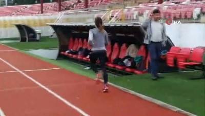 Milli sporcu Ayşe Bozkurt, Türkiye şampiyonasına hazırlanıyor