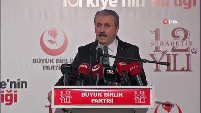 helikopter kazasi -  Muhsin Yazıcıoğlu ölümünün 12. yılında düzenlenen programla anıldı