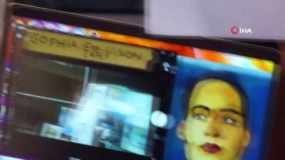sanat eseri -  - Robot Sophia'nın sanat eseri 688 bin 888 dolara satıldı