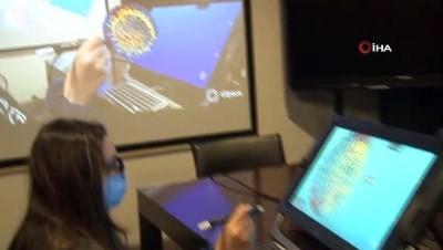 ozel okul -  Sanal gerçeklik ile öğrenciler virüsün bulaşma ve tedavi süreçlerini öğreniyor