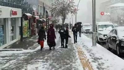 88 köy yolu kar nedeniyle ulaşıma kapandı