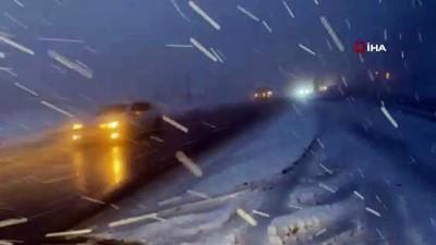 karayollari -  Bolu Dağı'nda yoğun kar yağışı