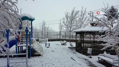 Erzincan'da kuvvetli kar yağışı ve zirai don uyarısı