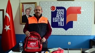 dis macunu -  Tekirdağ AFAD'tan 'Afet çantam hazır sizinki hazır mı' sloganı