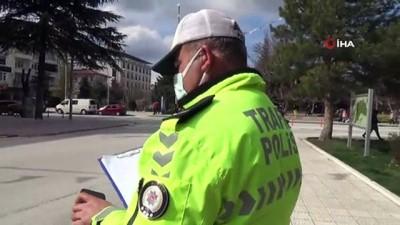 Trafik ekiplerinden drone destekli denetim