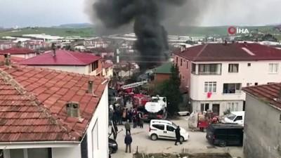 Yalova'da korkutan apartman yangını