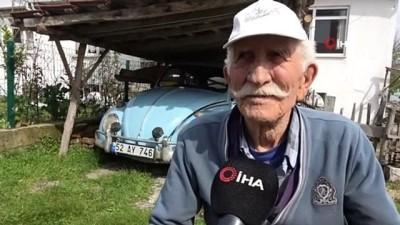 85 yaşındaki Altan dedenin vosvos aşkı