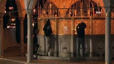 islam -  Ayasofya-i Kebir Camii Şerifi'nde Beraat Kandili sevinci