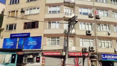 bilirkisi -  Heyelan bölgesine zemin etüdü yapılıyor...Cadde esnafı dükkanlarını açmak istiyor