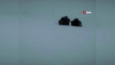 Kar ve tipide mahsur kalan hasta Kars İl Özel İdare ekipleri tarafından kurtarıldı