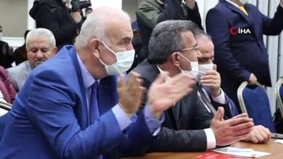 """yurttas -  TDP Genel Başkanı Sarıgül: """"Biz Ankara'ya kimsenin sofrasına oturmaya, kimsenin sofrasında bulunmaya gitmiyoruz"""""""
