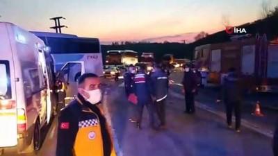 ali il -  Düzce'deki kazada hayatını kaybeden 2 arkadaş son yolculuğuna uğurlandı