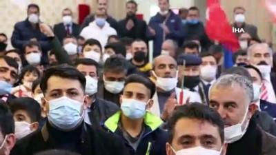 milli gorus -  Fatih Erbakan Yeniden Refah Partisi kongresinde konuştu