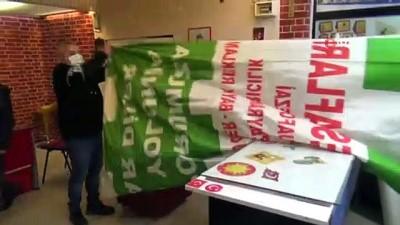 Giresun'da her yer yeşil-beyaz bayraklarla donatıldı