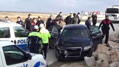 - Karaman'da silahla yaralama olayının şüphelileri kovalamaca sonucu yakalandı