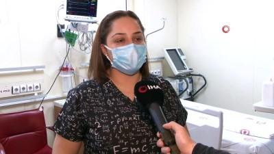 Mutant virüse yakalanan hemşire, yaşadıklarını anlattı