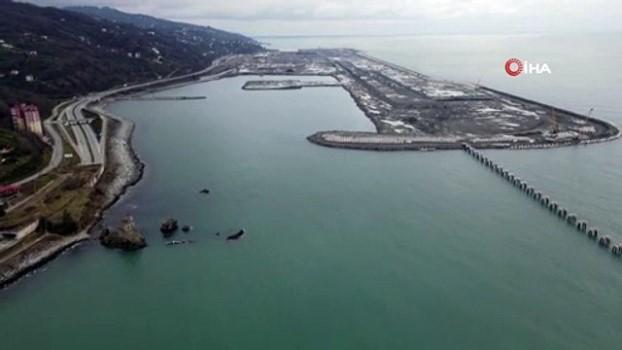 yayla turizmi -  Rize-Artvin Havalimanı inşaatı hız kesmeden devam ediyor