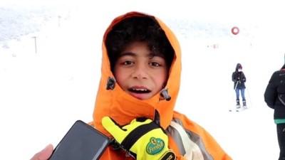 Sezonu kapatmaya hazırlanan Zigana'ya Mart'ın son günlerinde kar sürprizi: 75 santimetreye ulaştı