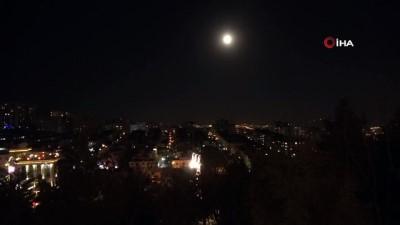 """iran -  - Yılın ilk 'Süper Solucan Ay'ı"""" Tahran'da görüldü"""