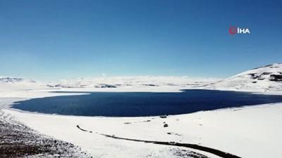 Aygır Gölü'nden kartpostallık görüntüler