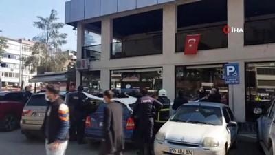 belediye baskani -  Belediye binasında intihar girişimi