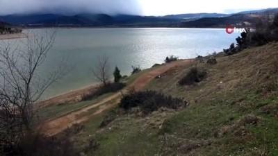 Bolu'nun içme suyu göletinde seviye yüzde 57'ye yükseldi