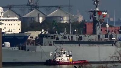 helikopter -  - NATO'nun Samsun çıkarması: 3 savaş gemisi limana demirledi - Samsun'da askeri hareketlilik