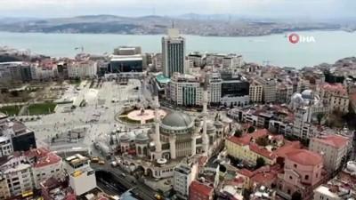 Taksim Camii Ramazan Ayına hazırlanıyor