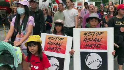 irkcilik -  - Yeni Zelandalılardan, Asya ırkçılığına karşı yürüyüş