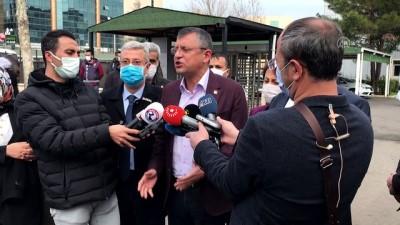 taksirle olume sebebiyet - DİYARBAKIR - Tahir Elçi'nin öldürülmesi ve iki polisin şehit edilmesine ilişkin dava - Özgür Özel