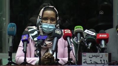 baskent - HARTUM - Sudan'a COVAX'ın gönderdiği Kovid-19 aşılarının ilk sevkiyatı ulaştı